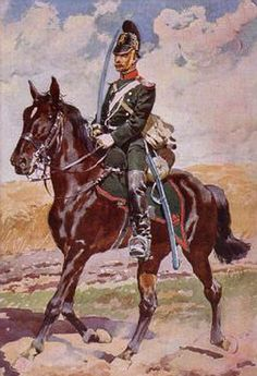 Corporal, 4th Bavarian chevauxleger regt