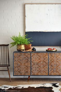 Tribal Sideboard Cab