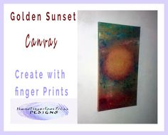 Golden Sunset Painting on canvas ‹ hffpdesigns.com ‹ Reader — WordPress.com