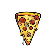 Pizzazz Pizza | Habitatt Supply Co. | Finest Quality Designed Temporary Tattoos
