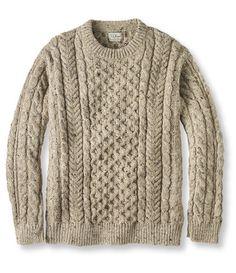 Irish Fisherman's Sweater, Crewneck: Crewnecks at L.L. Bean