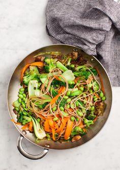 Sesame Broccoli and Shiitake Stir Fry Recipe - Love and Lemons