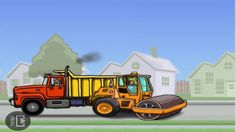 Dump Truck Videos For Children Construction Vehicles Toys For Kids Excavator For Children A dump truck is a truck used for transporting loose material (such .