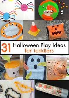 31 halloween play ideas for toddlers - Toddler Halloween Craft Ideas
