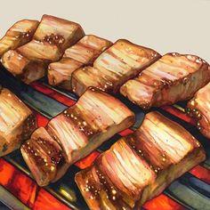 한국음식 을 그려보았습니다. . 재료: 사인펜 음식출처: @bookobee 님 . . . . . . . . . . . #삼계탕 #닭 #한국음식 #음식그림 #음식일러스트 #일러스트 #드로잉 #사인펜 #싸인펜 #펜그림 #illustration… Food N, Food And Drink, Food Art Painting, How To Cook Meatloaf, Cute Food, Yummy Food, Food Cartoon, Food Wallpaper, Food Icons