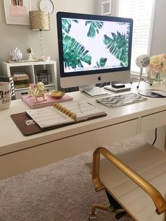 20 Home Office Ideas (Modern Style and Comfortable : Check out the reveal of this absolutely stunning home office makeover! Includes tons of great organization ideas! Office Shelving, Home Office Storage, Home Office Organization, Home Office Space, Home Office Design, Home Office Decor, Organization Ideas, Office Ideas, Home Decor