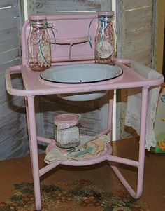 Child's Vintage wash stand