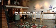 Demi Creative #web #layout #inspiration