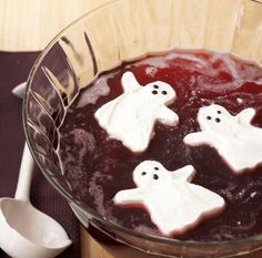 10 Halloween Punch Recipes to Get the Party Started via Brit + Co.