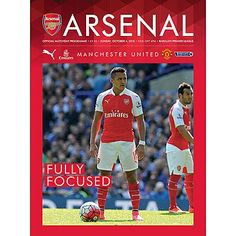 Arsenal v Manchester United Sunday, October 4, 2015. Official Matchday…