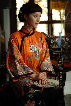 Late Qing Dynasty woman played by Fan Bingbing (Old-Fashioned Qipao) #qipao #cheongsam