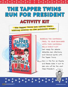 The Tapper Twins Run for President Activity Kit