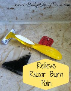 Take the Pain Away From a Razor Burn