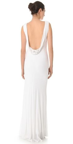 Badgley Mischka - Look at this back!!!