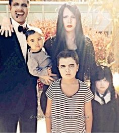 Coolest and Cheapest Addams Family Costume... Coolest Halloween Costume Contest