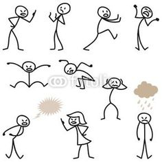 Illustration about Set of vector stick figures: Happy stick man walking and running. Illustration of smiling, stick, walking - 38950966 Doodle Drawings, Cartoon Drawings, Doodle Art, Easy Drawings, Visual Note Taking, Stick Figure Drawing, Doodles, Stick Man, Sketch Notes