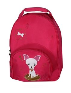 My Sweet Dreams Baby - Hot Pink Bruiser Personalized Toddler Backpack (http://www.mysweetdreamsbaby.com/travelbackpacks.htm)