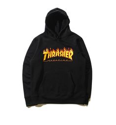 Thrasher Hooded Hoodie - Black, Fire or Silver - PICS of BUYERS - Send us Your Pics!
