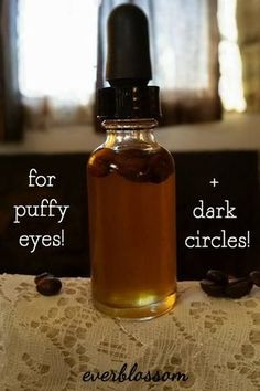 How To Make A Puffy Eye & Dark Circle Banishing Eye Serum