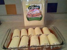 Kittencal's Mushroom Sausage Lasagna Rolls