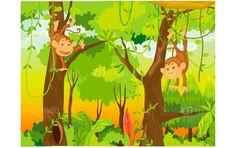 Dschungel im Kinderzimmer