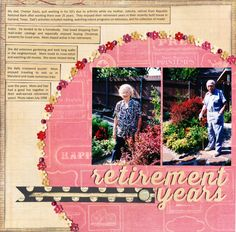 Layout: Retirement Years