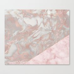 Buy Pink marble & french polished rose gold marble Canvas Print by marbleco. Worldwide shipping available at Society6.com. Just one of millions of high quality products available.