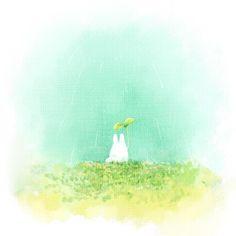 Image about totoro in Studio Ghibli by Shiemi-lee Hayao Miyazaki, Isao Takahata, Studio Ghibli Movies, My Neighbor Totoro, Manga Drawing, Animation Film, Anime, Watercolor, Artwork