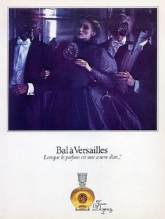 Bal a Versailles perfume by Jean Desprez, Paris – at the hall of mirrors, Versailles Photographed by Sarah Moon. Carnival Photography, Ad Photography, Sarah Moon, Bal A Versailles, Perfume Adverts, Perfumes Vintage, Hall Of Mirrors, Ads Creative, Retro Ads