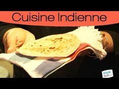 Pain indien fait maison: le chapati - YouTube