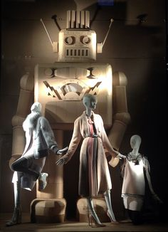 Bergdorf's Robot Windows via stylecurated.com
