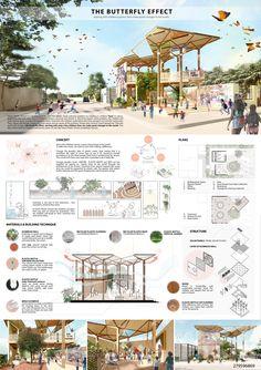 Concept Board Architecture, Architecture Presentation Board, Architecture Panel, Landscape Architecture Design, Green Architecture, Architecture Portfolio, School Architecture, Architecture Posters, Interior Design Presentation