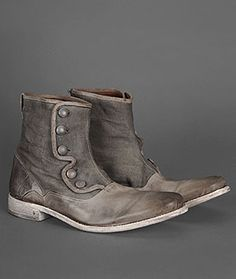 Bowery Button Boot  on Tre & Mike, John Varvatos