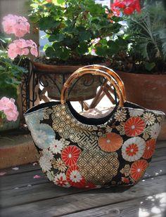 Obi / Kimono / Bag / BK655 Gorgeous Chrysanthemum Pattern Obi