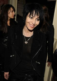 Joan Jett Photos Photos - Musician Joan Jett attends THE CINEMA SOCIETY