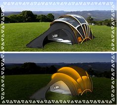 What's new in tents?  Really, you have no idea! (Win one to see)