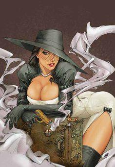 Madame Mirage - Comics by comiXology Boris Vallejo, Bd Comics, Comics Girls, Sexy Cartoons, Comic Books Art, Book Art, Comic Book Costumes, Pin Up, Comic Kunst