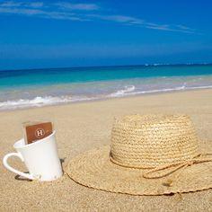 LUXURIOUS TEA MADE EASY. Available now at www.hobbstea.com #hobbs #tea #organic #hawaii #paradise #luxury #travel #tropical #sand #ocean #beach