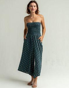 O'NEILL Aliana Tube Jumper Strapless Dress Formal, Formal Dresses, Crinkles, Straight Leg Pants, Smocking, Bodice, Jumper, Tube, Closet Renovation
