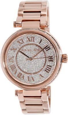 Michael Kors MK5868 Skylar Rose Goldtone Stainless Steel Two-Hand Bracelet Rose Gold Watch Michael Kors http://www.amazon.com/dp/B00GY5KQS6/ref=cm_sw_r_pi_dp_34s2ub0K2WG2D