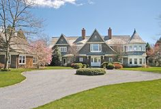shingle style house design - Google Search
