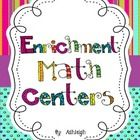 The product contains 12 different math center activities and ideas.  Each center activity is designed to challenge students and should take 45 minu...