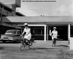 Early years of the NHS - in pictures Salford, Old Photos, Childhood Memories, Manchester, The Past, Bike, Black And White, Nursing, Pictures