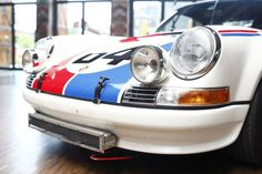Porsche 911 in der Classic Remise Berlin
