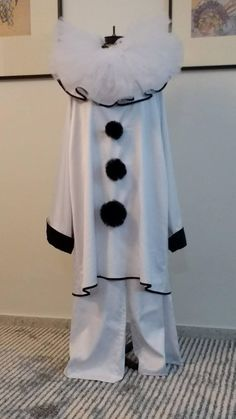 Check out this item in my Etsy shop https://www.etsy.com/ru/listing/533434375/white-pierrot-clown-costume-commedia