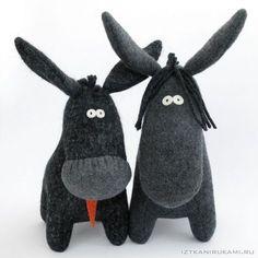 Donkeys, by  A. Udalova