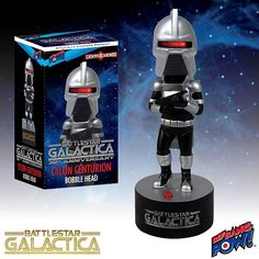 Battlestar Galactica Cylon Centurion Bobble Head