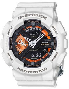 Part of the cool white Casio G-Shock S-Series this collaboration watch with Nicholas K was introduced at the Spring Summer 2016 Fashion Week in New York. - Mineral Glass - Magnetic Resistant - Shock R