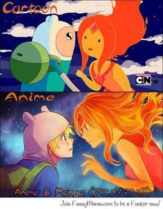 anime vs cartoon