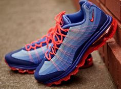 Wmns Nike Air Max 95 DYN FW Ultramarine Blue Bright Citrus